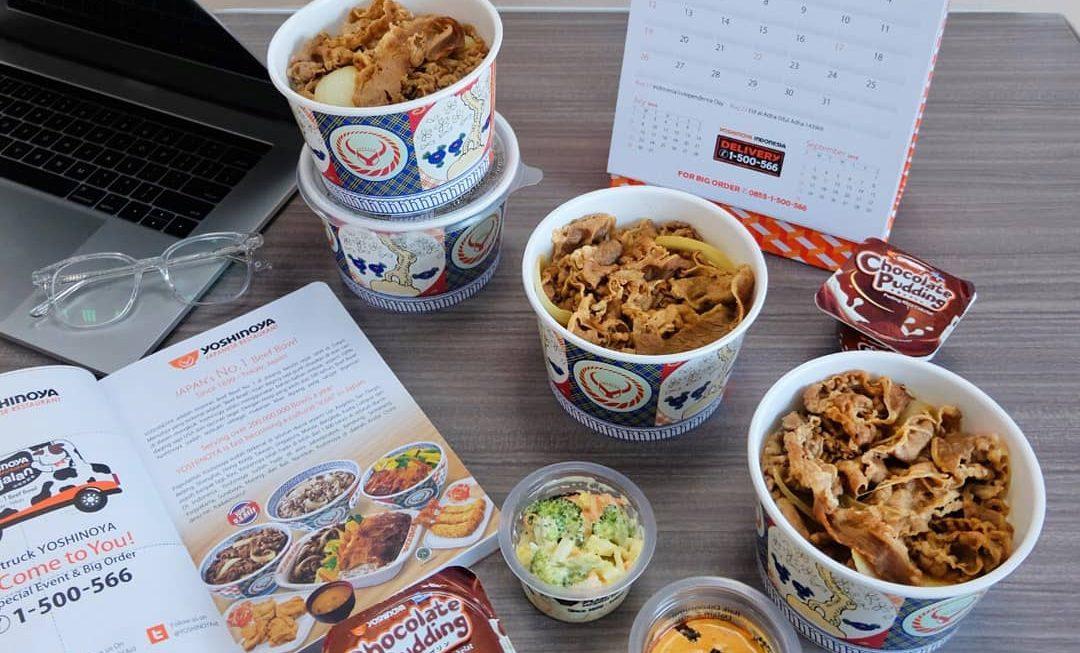 Pesan Yoshinoya di Foodspot, Makan Gratis di Outlet-nya!